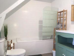Home staging pour la salle de bain de l'Estran !